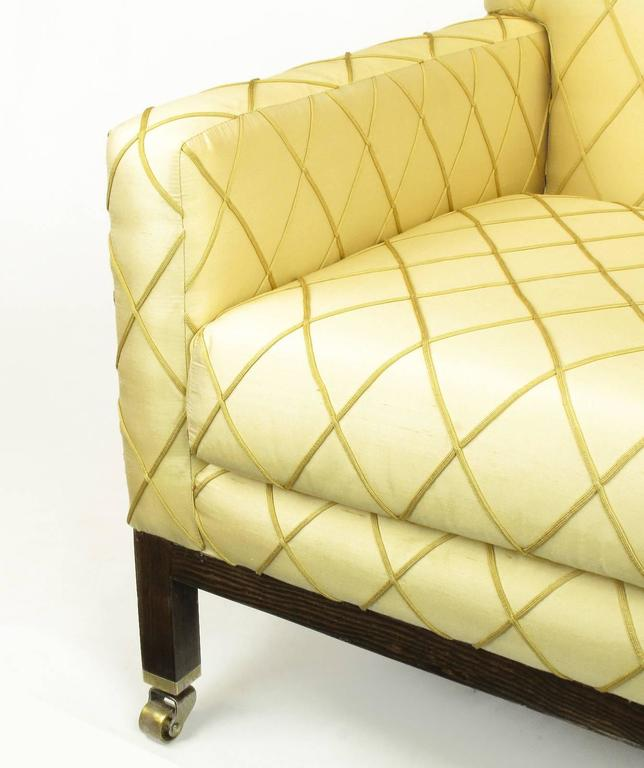 Edward Wormley for Dunbar Rolled Back Club Chair In Good Condition For Sale In Chicago, IL