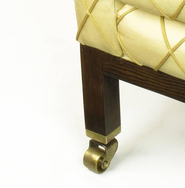 Mid-20th Century Edward Wormley for Dunbar Rolled Back Club Chair For Sale