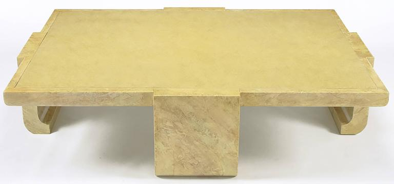 Modern Alessandro for Baker Exquisitely Hand Lacquered Coffee Table For Sale