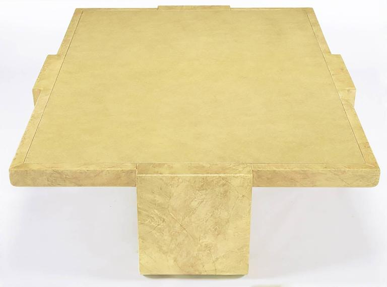American Alessandro for Baker Exquisitely Hand Lacquered Coffee Table For Sale