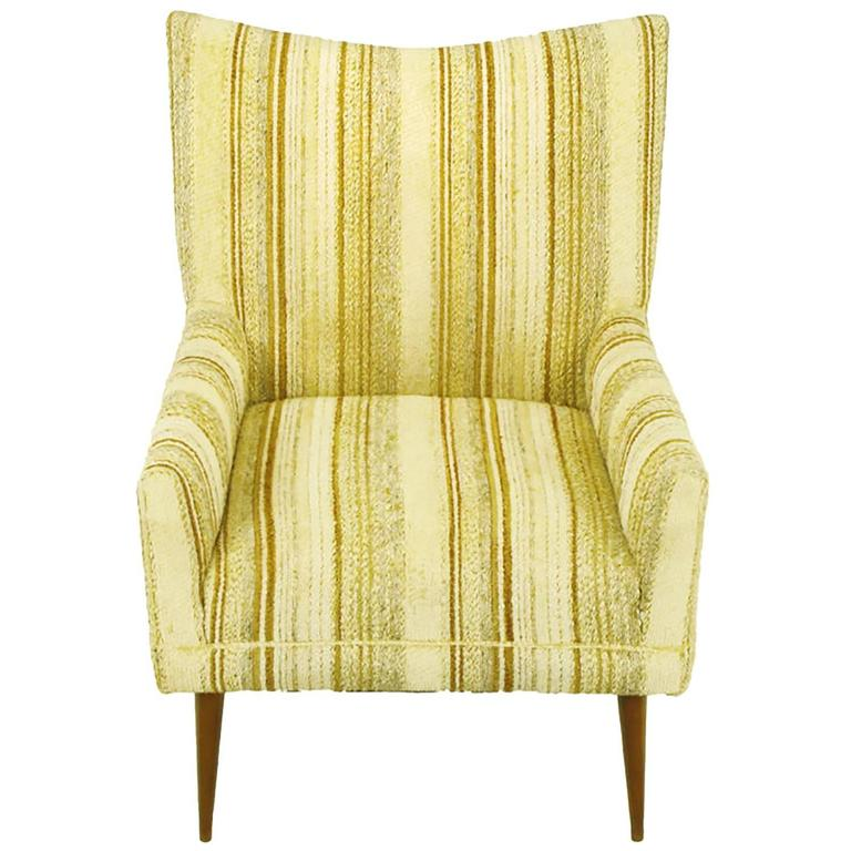 Original Paul McCobb High Back Lounge Chair For Sale