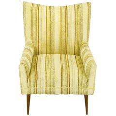 Original Paul McCobb High Back Lounge Chair