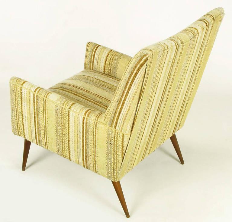 American Original Paul McCobb High Back Lounge Chair For Sale