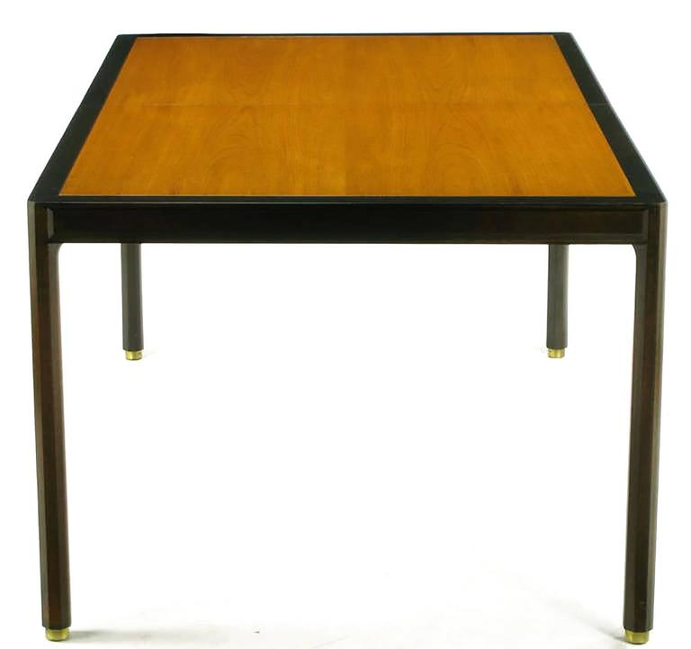 Harvey Probber Walnut and Mahogany Parsons Dining Table  : 841912803567115ll from www.1stdibs.com size 768 x 721 jpeg 22kB