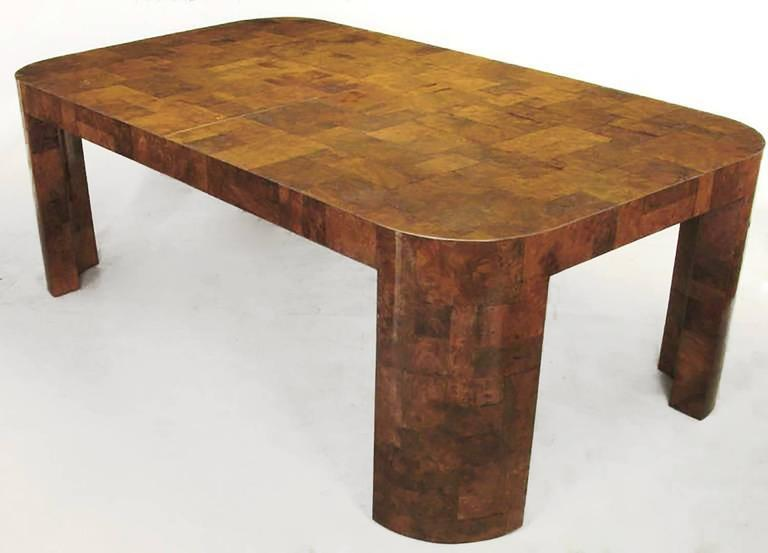 Paul Evans Patchwork Walnut Burl Dining Table 2