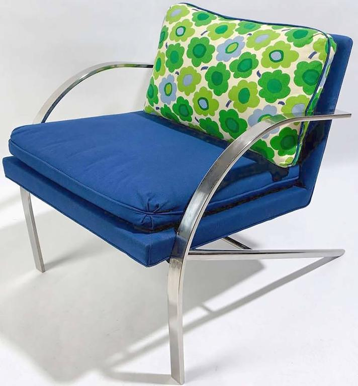 """Mid-Century Modern Pair of """"Arco"""" Chairs in the Style of Paul Tuttle For Sale"""