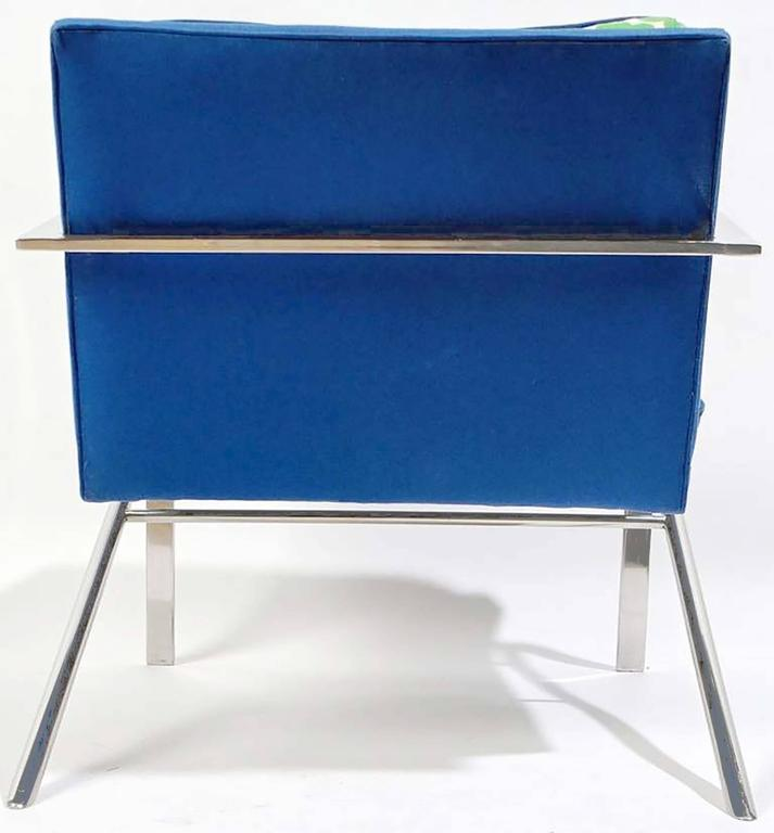 """Pair of """"Arco"""" Chairs in the Style of Paul Tuttle In Good Condition For Sale In Chicago, IL"""