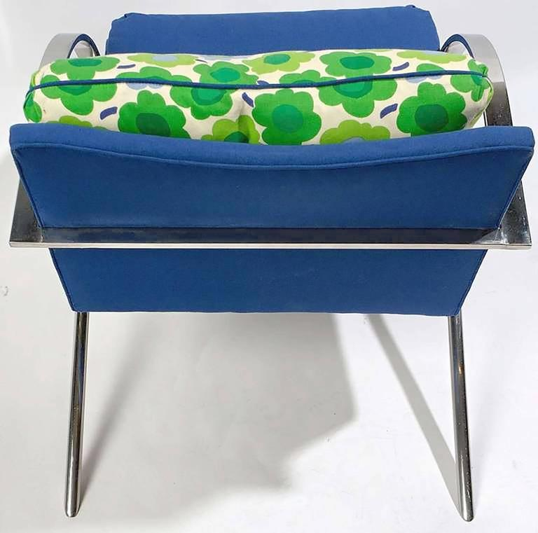 """Mid-20th Century Pair of """"Arco"""" Chairs in the Style of Paul Tuttle For Sale"""