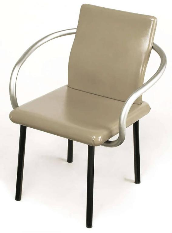 Six Ettore Sottsass Mandarin Chairs for Knoll 3