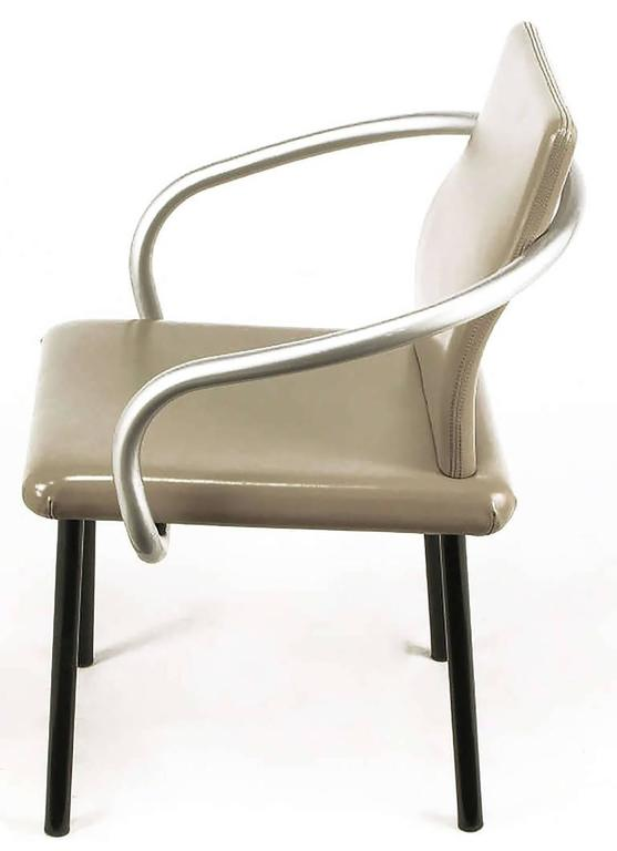 American Six Ettore Sottsass Mandarin Chairs for Knoll For Sale
