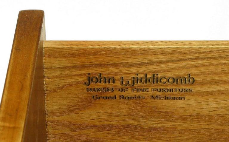 Bert England Persian Walnut and Leather Desk for John Widdicomb For Sale 3