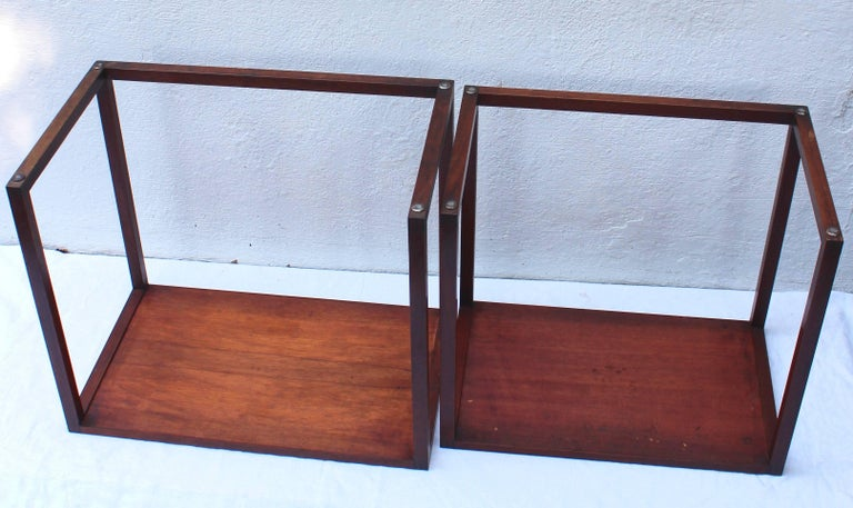 Set of Two Swedish Nesting Tables by Karl Erik Ekselius For Sale 3