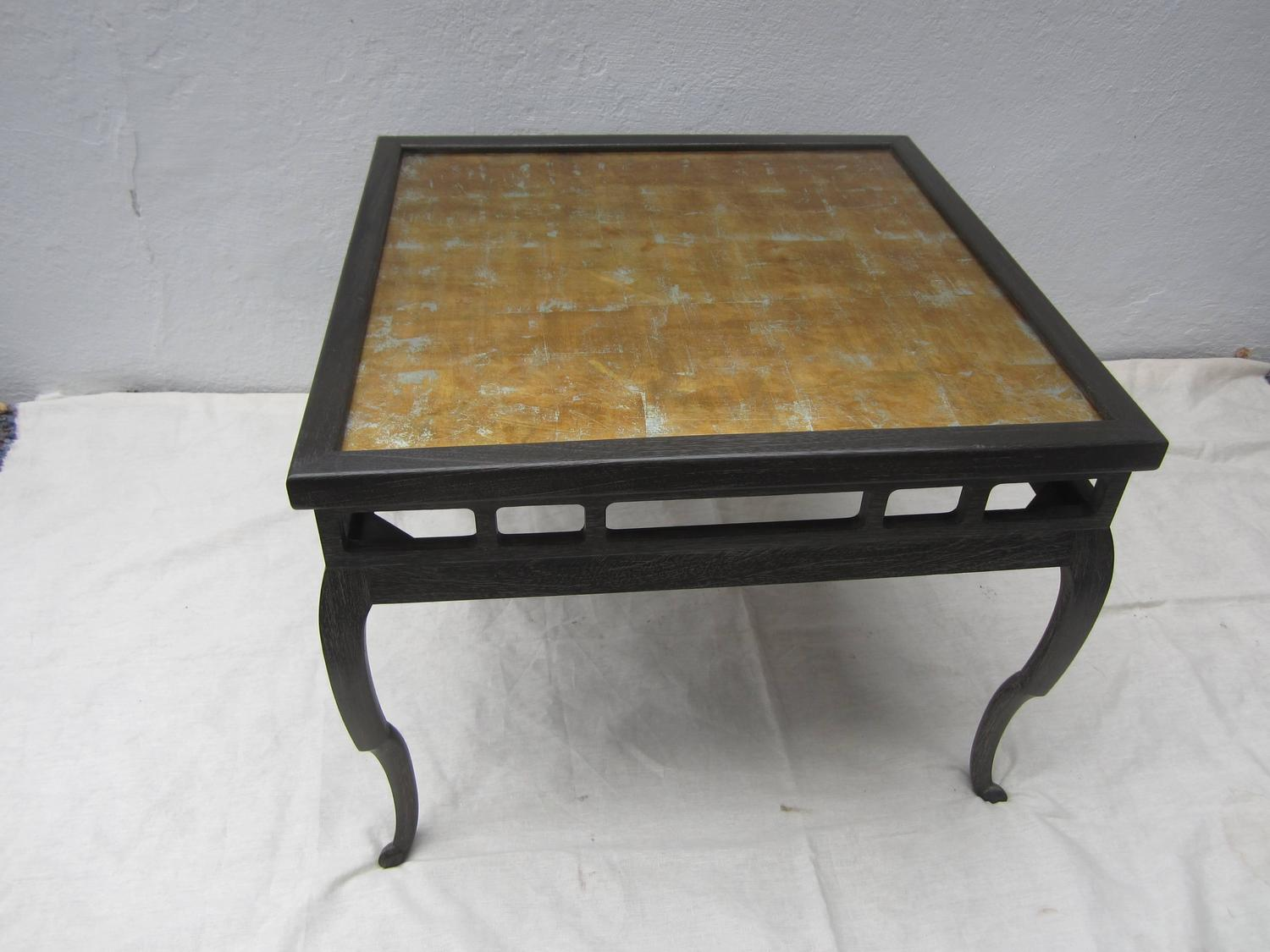 Chinese Style Tea Table In The Style Of James Mont For Sale At 1stdibs
