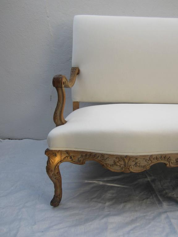 19th century louis xv style canape for sale at 1stdibs for Canape style louis xv