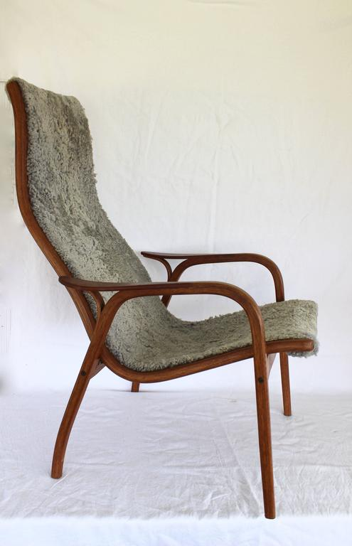 Lamino Chair and Ottoman by Yngve Ekström for Swedese For Sale at 1stdibs