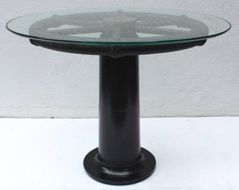 Ship's Wheel Table For Sale 3