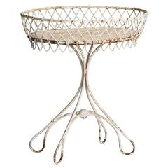 French Wrought Iron Jardiniere, circa 1890