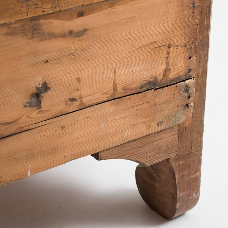 Antique Swedish, Rococo Period, Chest of Drawers, circa 1760 For Sale 4