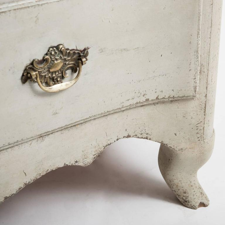 Antique Swedish, Rococo Period, Chest of Drawers, circa 1760 For Sale 2