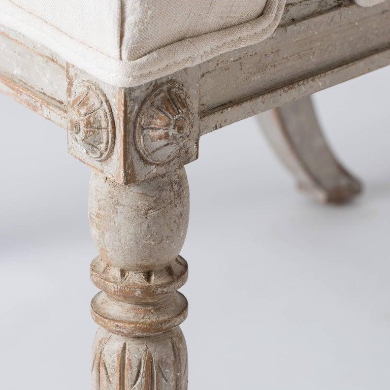Pair of Swedish Gustavian Style Barrel Back Chairs, circa 1850 7