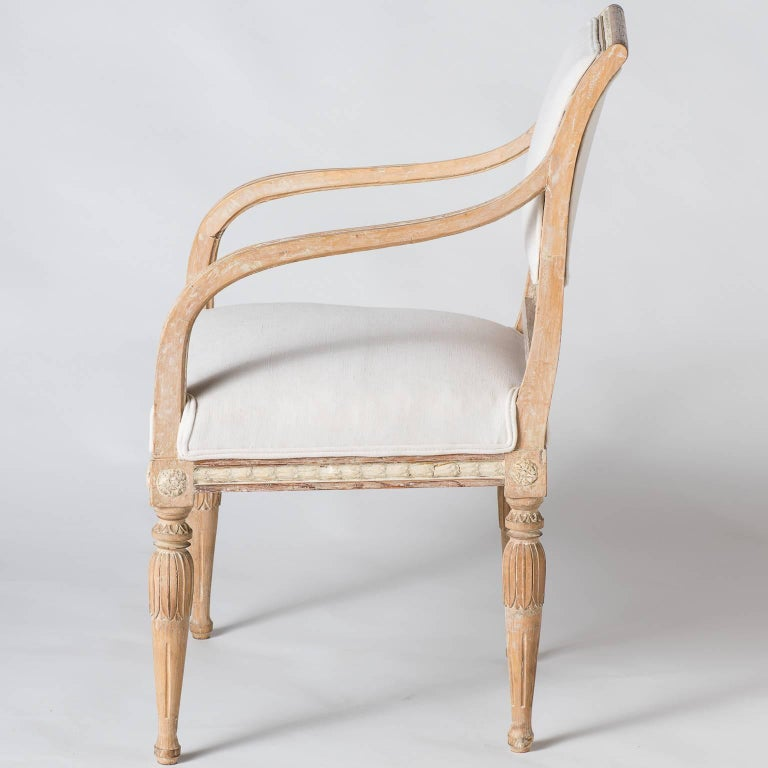 Pair of Swedish Gustavian Period Armchairs, circa 1790 8