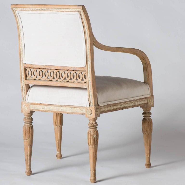 Pair of Swedish Gustavian Period Armchairs, circa 1790 9