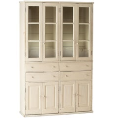 French Late 19th Century Cupboard with Glass Doors, circa 1890