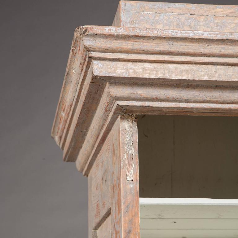 Early 19th Century Swedish Late Gustavian Column Cabinet, circa 1800 For Sale