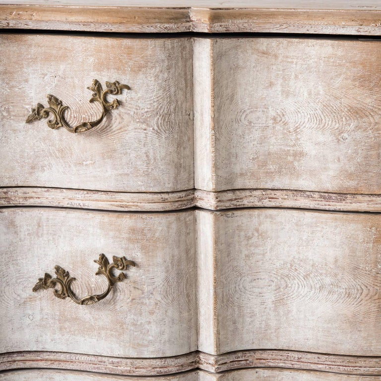 Swedish Baroque Period Chest of Drawers in Two Parts, circa 1760 For Sale 2
