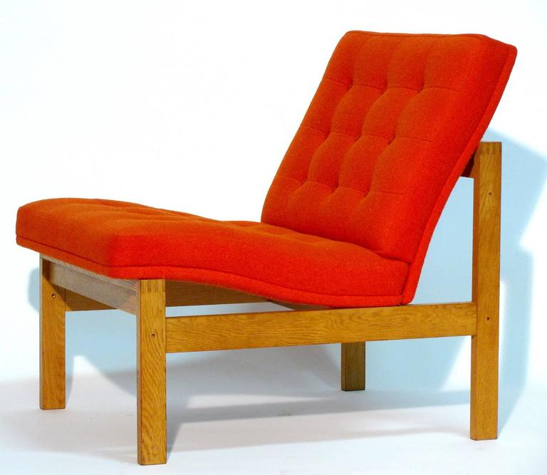 Pair of Easy Chairs by Ole Gjerløv-Knudsen and Torben Lind for France and Son 3