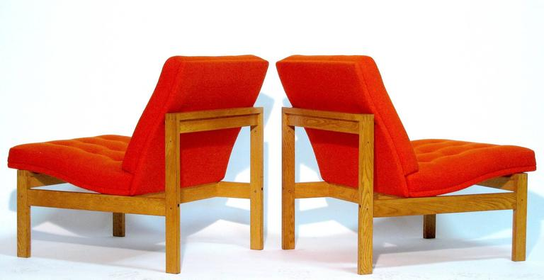 Pair of Easy Chairs by Ole Gjerløv-Knudsen and Torben Lind for France and Son 6