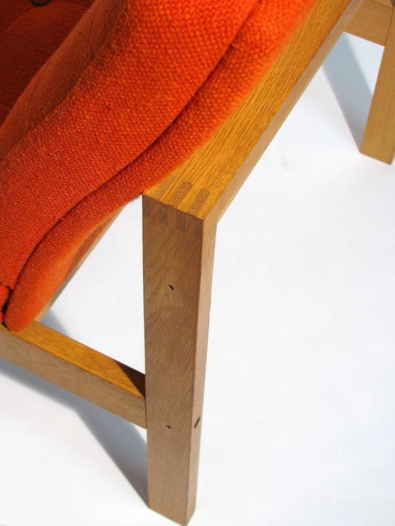 Pair of Easy Chairs by Ole Gjerløv-Knudsen and Torben Lind for France and Son 8