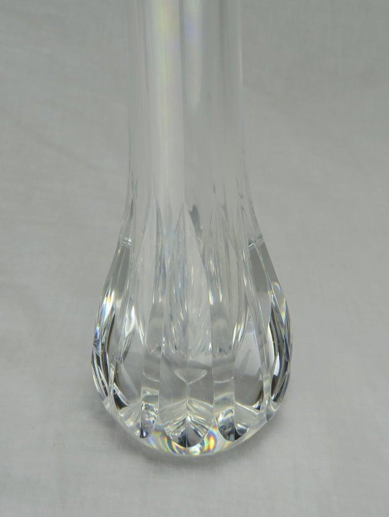 Baccarat Crystal Bud Vase For Sale At 1stdibs