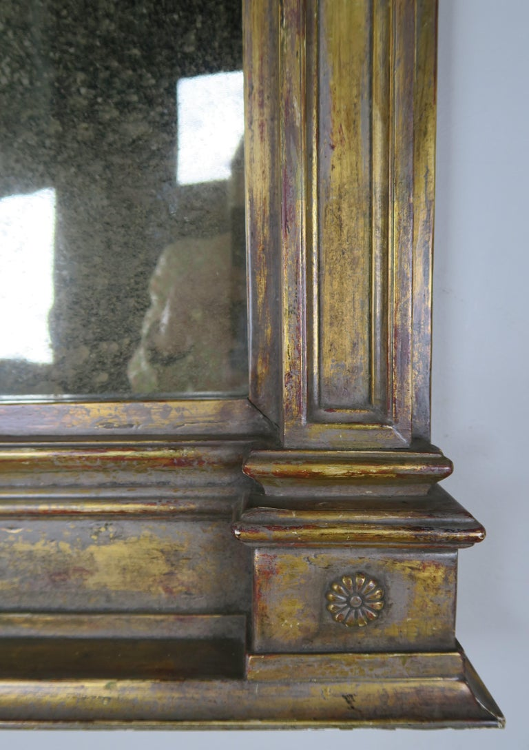 19th Century Italian Neoclassical Style Giltwood Mirror For Sale 5