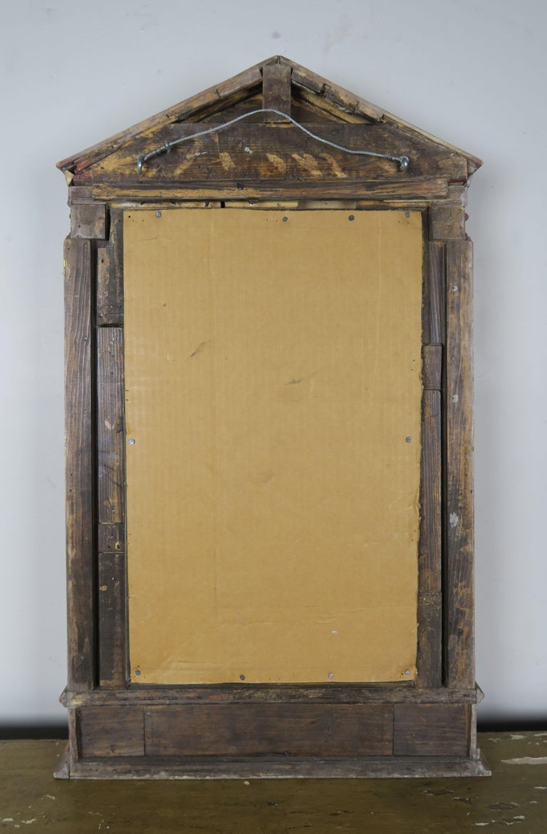 19th Century Italian Neoclassical Style Giltwood Mirror For Sale 7