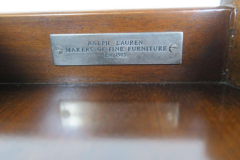 Ralph Lauren Flamed Mahogany Centre Table 6
