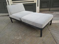 Van Keppel-Green Chaise Lounge Platform Bench with Removable Cushions