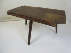 Side/Coffee Table in the Style of Nakashima dated 1973