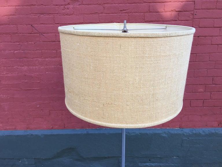 Machine Age American 1930s Lamp/Magazine Rack For Sale 3