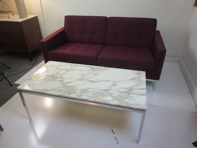 Florence Knoll for Knoll Settee For Sale 2