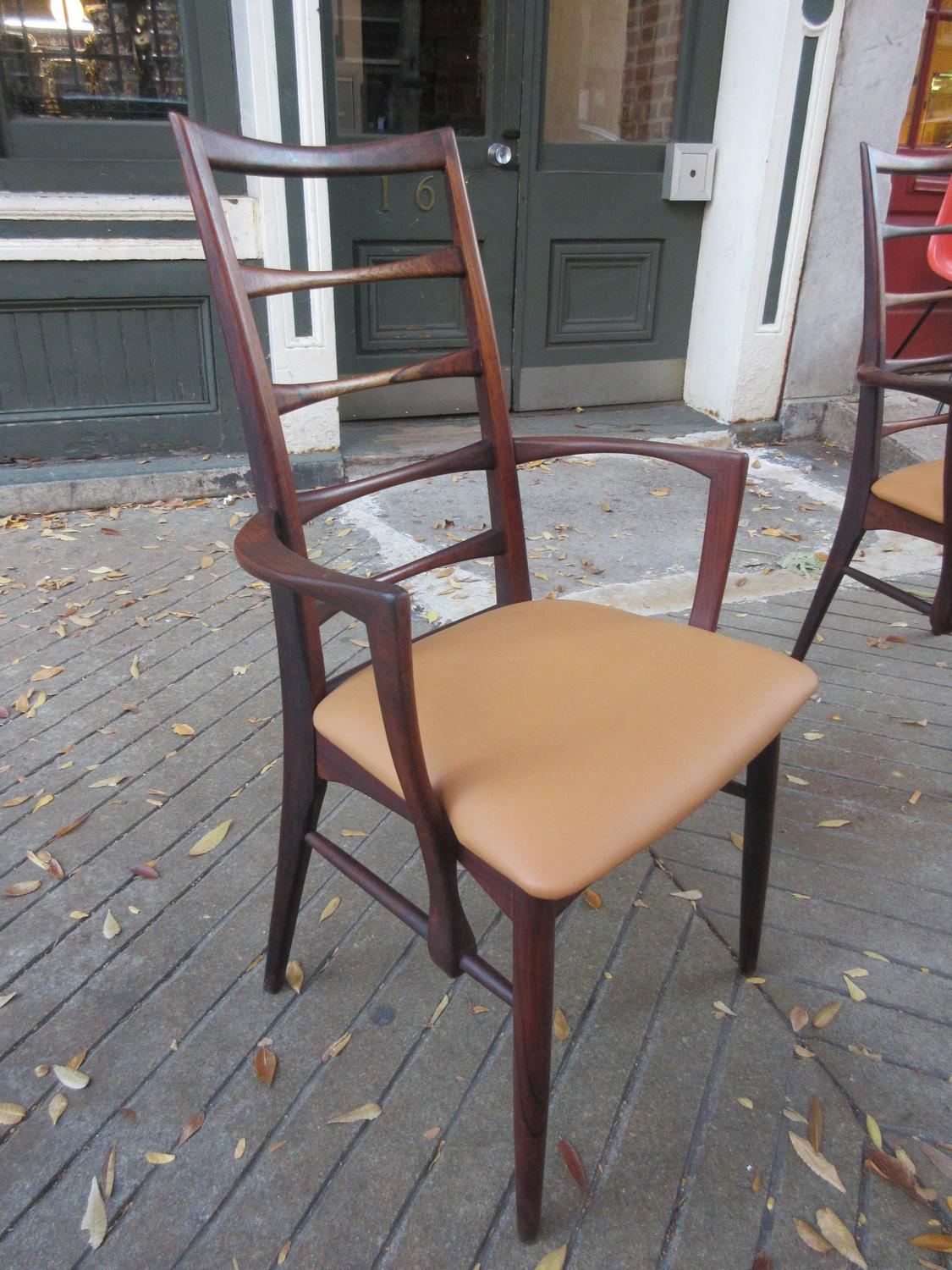 Niels kofoed rosewood dining chairs at 1stdibs for Z furniture philadelphia