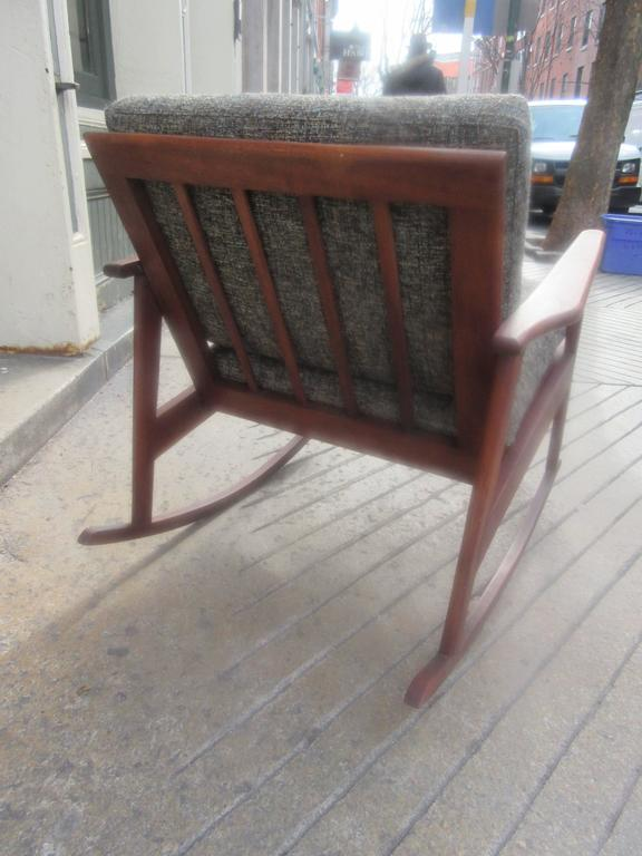 Danish Teak Rocker in the Style of Ole Wanscher 3