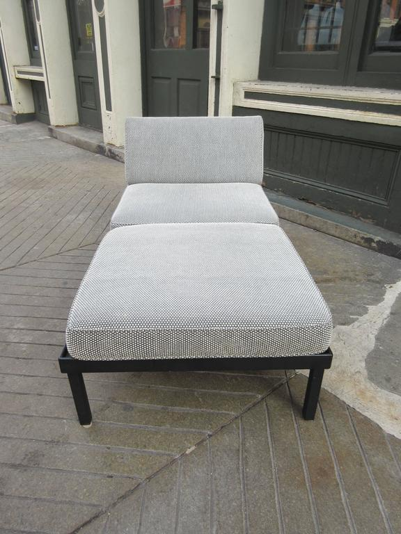 Van Keppel-Green Chaise Lougue Platform Bench with Removable Cushions 3