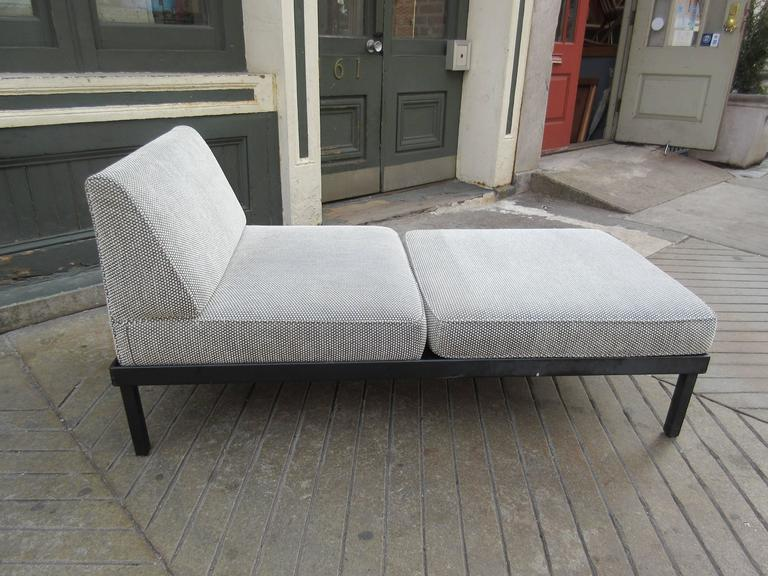 Van Keppel-Green Chaise Lougue Platform Bench with Removable Cushions 2
