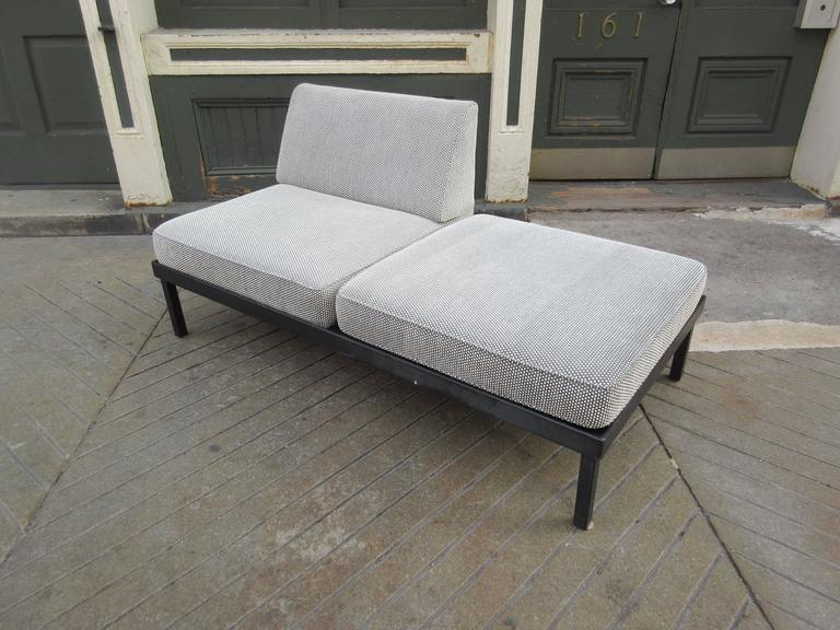 Van Keppel-Green Chaise Lougue Platform Bench with Removable Cushions 4