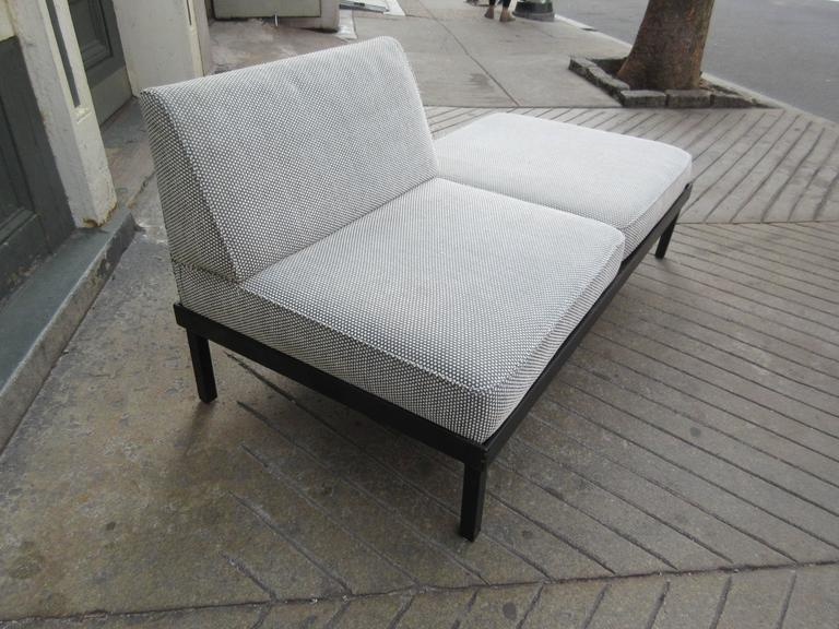 Van Keppel-Green Chaise Lougue Platform Bench with Removable Cushions 5