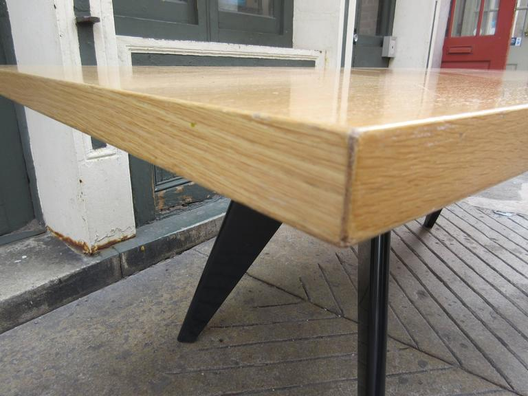Prouve for Vitra Dining Room EM Table In Good Condition For Sale In Philadelphia, PA