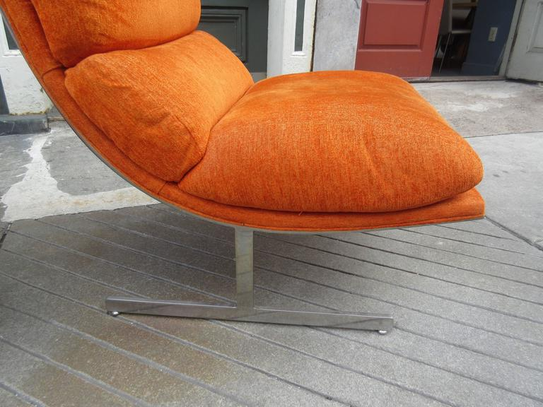 Milo Baughman for Thayer Coggin  pair of Lounge Chairs  2