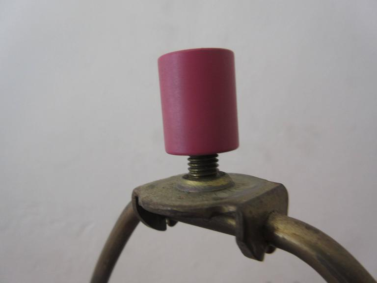 Laurel Genie Magenta or Pink Table Lamp 7