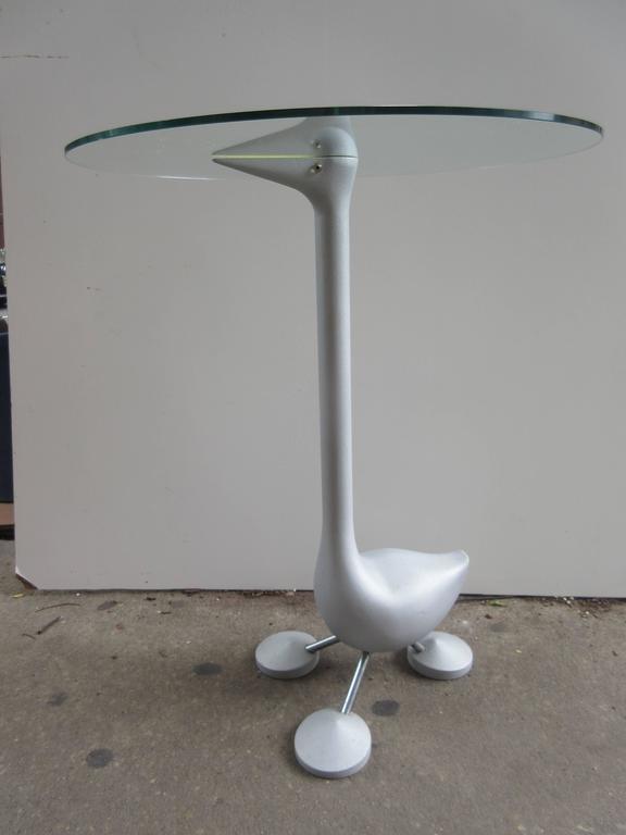 Post-Modern Alessandro Mendini for Zanotta Sirfo Edizioni Goose Table For Sale